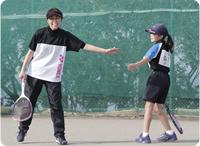 第2回スポーツひのまるキッズ千葉県小学生ソフトテニス親子大会